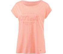 'essentials Brand' T-Shirt apricot