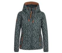 Jacket '36 DDs' braun / smaragd / weiß