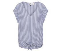 Shirt 'born TO TRY Stripe' hellblau
