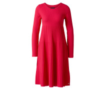 Strickkleid pink