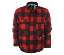 Jacke rot / schwarz