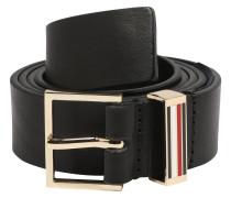 Ledergürtel 'lux Belt 3.0' schwarz