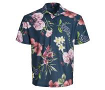 Poloshirt taubenblau / mischfarben
