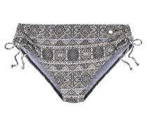Bikini-Hose hellbraun / schwarz / weiß