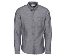 Hemd 'Langarmhemd' hellblau