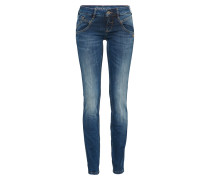 Mid Waist Jeans 'yasmin' blue denim