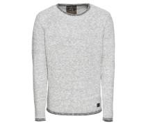 Pullover 'häkinen' graumeliert