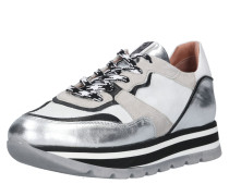 Sneaker 'Carolina' greige / hellgrau / silber