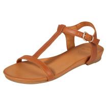 Sandale 'Dora' cognac