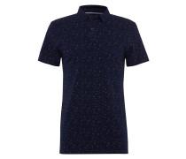 Poloshirt dunkelblau / weiß