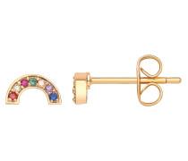 Ohrringe gold / mischfarben