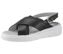 Sandale 'Donna Tamas' schwarz