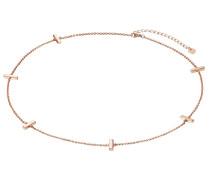 Silberkette rosegold