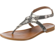 T-Steg-Sandalen grau