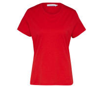 T-Shirt 'Solly solid' rot