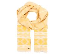 Schal gelb