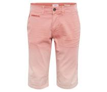Shorts 'chino turn-up shorts' rosa
