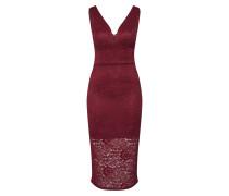 Kleid 'WG 6292' weinrot
