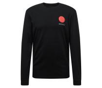 Shirt 'Japanese Sun' schwarz