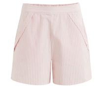 Shorts altrosa / naturweiß