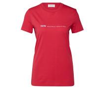 Shirt 'Eden' himbeer
