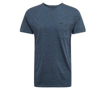 Shirt 'ultimate Pocket' blau