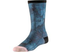 Sneakersocken Damen blau