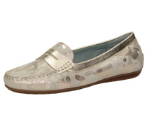 Slipper 'Muhima' beige / silber