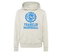 Sweatshirt blau / graumeliert
