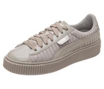Sneaker Basket Platform EP grau