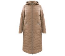 Mantel dunkelbeige