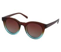 Sonnenbrille 'Tamara' blau / braun