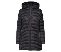Mantel 'LW Puffer Coat' schwarz