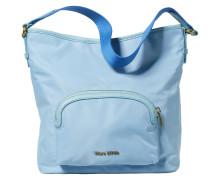 Hobo Bag blau / hellblau