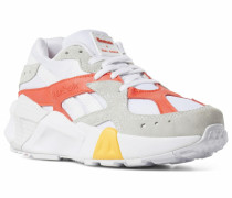 Sneaker 'Aztrek' gelb / rot / weiß