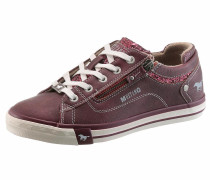 Sneakers merlot / weiß