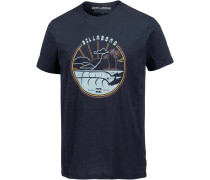 'along THE Road' T-Shirt navy
