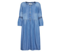 Kleid 'Lussa' blue denim