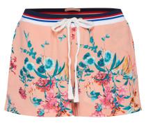 Shorts mischfarben / pfirsich