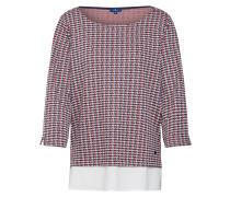 Sweatshirt navy / rot / weiß