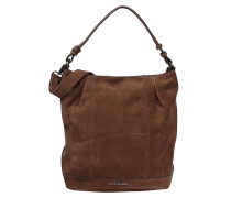 Hobo-Bag 'Smooth' braun
