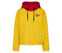 Sweatshirt 'Lynaz' gelb / rot