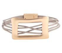 Armband 'Tyge' gold / taupe