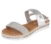 Sandalen 'elegant' silber