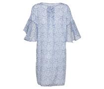 Kleid 'maebel' blau / weiß