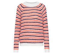 Pullover 'erica Ls3' rot / weiß