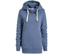 Sweatshirt 'ulyssa' royalblau / braun / weiß