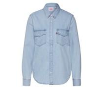Jeansbluse 'Essential Western' blue denim