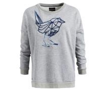Sweatshirt 'marita' blau / grau