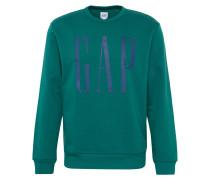 Sweatshirt 'v-Db Logo Crew' dunkelblau / grün
